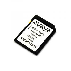 Avaya IP Office System SD Card