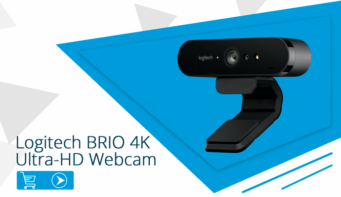 Logitech BRIO 4K Ultra-HD Webcam